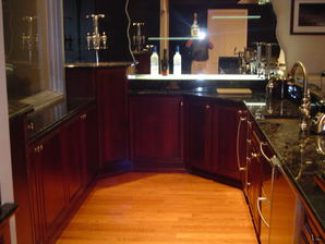 Finished Basement with Custom Bar in Bloomfield Hills, MI (3)