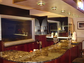 Finished Basement with Custom Bar in Bloomfield Hills, MI (4)