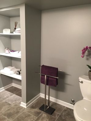 Bathroom in Finished Basement in Shelby Township, MI (1)