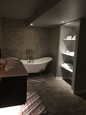 Bathroom in Finished Basement in Shelby Township, MI (4)