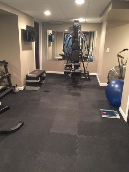 Finished Basement / In-home Gym in Auburn Hills, MI (1)